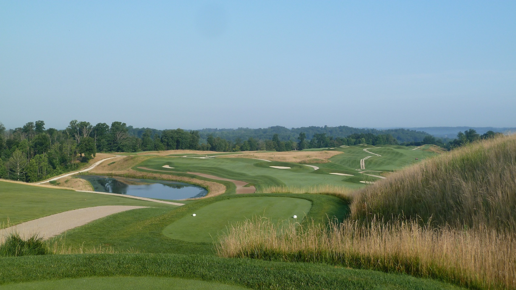 Pete dye golf course french lick
