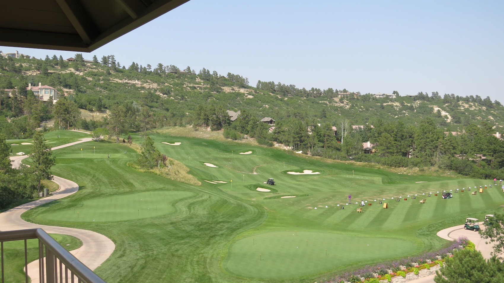 castle pines golf club golf tripper